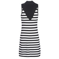 Clothing Women Short Dresses Guess KIMBERLY Black / White