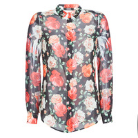 Clothing Women Shirts Guess CLOUIS Black / Multicolour