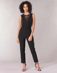 Clothing Women Jumpsuits / Dungarees Guess SERENELLA Black