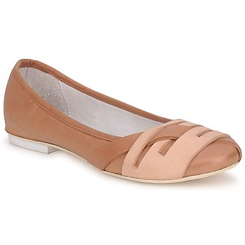 Shoes Women Flat shoes Marithé & Francois Girbaud BOOM Cognac