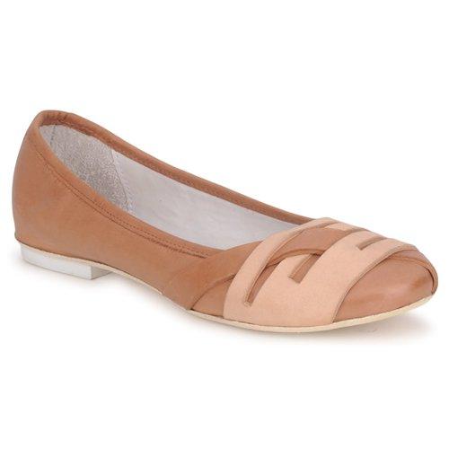 Shoes Women Flat shoes Marithé & Francois Girbaud BOOM Cognac