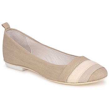 Shoes Women Flat shoes Marithé & Francois Girbaud BRUMES Beige