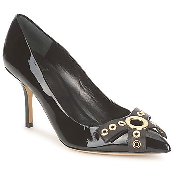 Shoes Women Heels Moschino Cheap & CHIC CA1012 BLACK