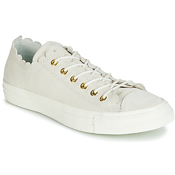 Shoes Women Low top trainers Converse CHUCK TAYLOR ALL STAR - OX Taupe