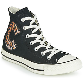 Shoes Women Low top trainers Converse WILD PACK  black / Leo
