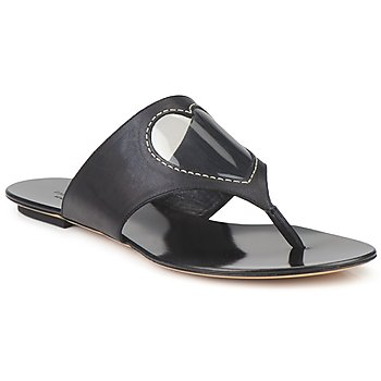 Shoes Women Flip flops Moschino Cheap & CHIC CALOTROPIS Black