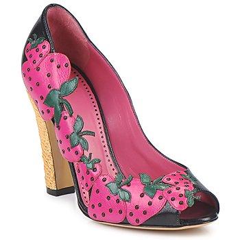 Shoes Women Heels Moschino Cheap & CHIC ALBIZIA Rose-black-green