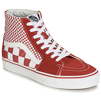 b4fad9ff4d Shoes Hi top trainers Vans SK8-Hi Red   White
