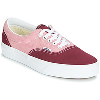Shoes Women Low top trainers Vans Era Red / Pink