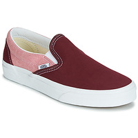 Shoes Women Slip-ons Vans Classic Slip-On Red / Pink