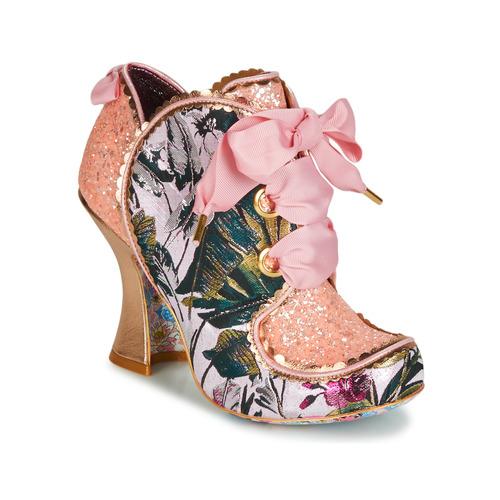 Shoes Women Heels Irregular Choice BARONESS Pink / Multi