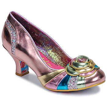 Shoes Women Heels Irregular Choice STUPENDA Pink