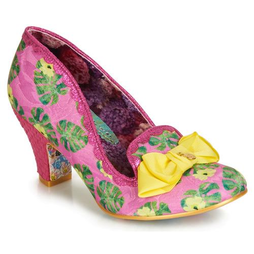 Shoes Women Heels Irregular Choice KANJANKA Pink