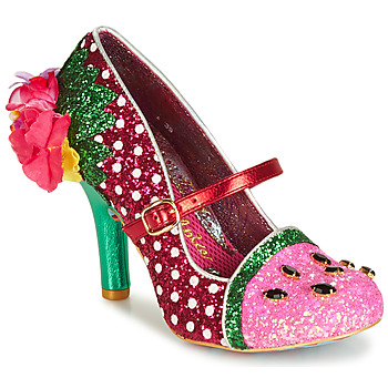 Shoes Women Heels Irregular Choice CRIMSON SWEET Pink / Green