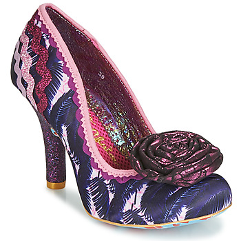 Shoes Women Heels Irregular Choice PRIZE WINNER Purple