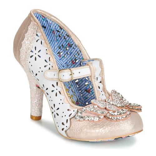 Shoes Women Heels Irregular Choice PAPILLON White