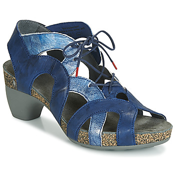Shoes Women Sandals Think TRAUDI Blue