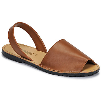 Shoes Women Sandals So Size LOJA Brown