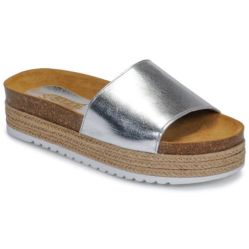 Shoes Women Mules So Size JITRUNE Silver