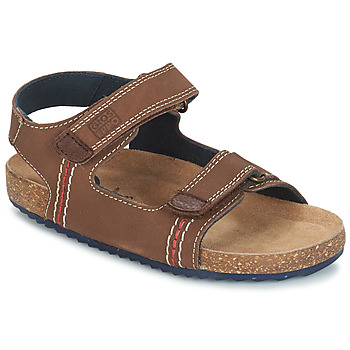 Shoes Boy Sandals Gioseppo LAQUILA Brown