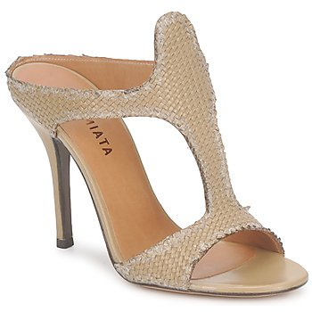 Shoes Women Sandals Premiata 2821 LUCE Ocra