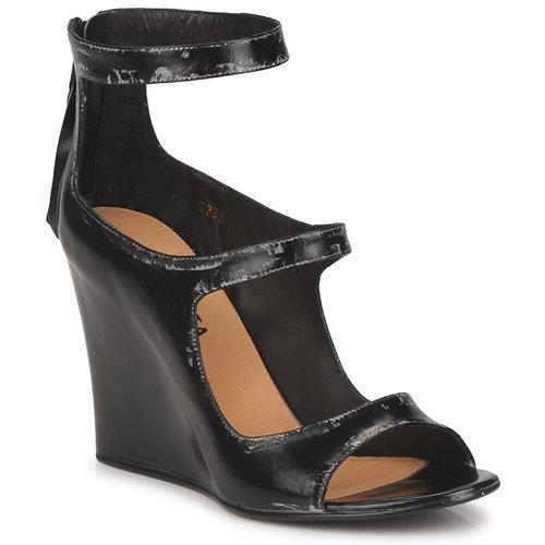 Shoes Women Sandals Premiata 2830 LUCE Black