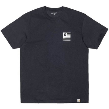 Clothing Men short-sleeved t-shirts Carhartt S/S State Sports T-Shirt Navy