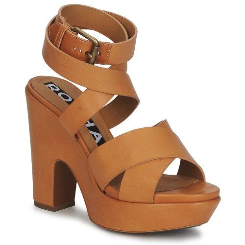 Shoes Women Sandals Rochas RO18082 Brown