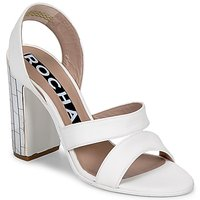 Shoes Women Sandals Rochas RO18244 White