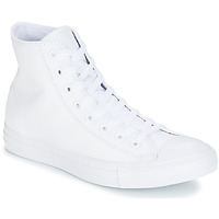 Shoes Hi top trainers Converse ALL STAR MONOCHROME CUIR HI White
