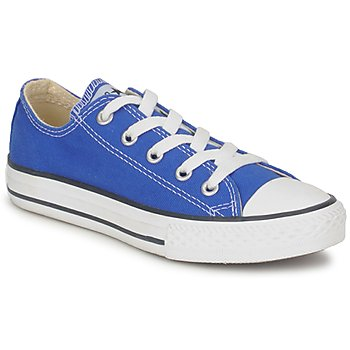 Shoes Children Low top trainers Converse ALL STAR OX Blue / Petant