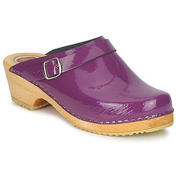 Shoes Women Clogs Le comptoir scandinave EKRALO Purple