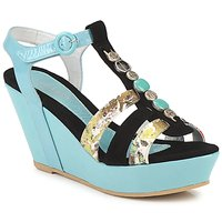 Shoes Women Sandals Regard RAFAVO Black Blue