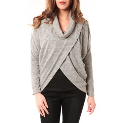 Clothing Women Jackets / Cardigans By La Vitrine Gilet Kevina 12051 Gris Grey