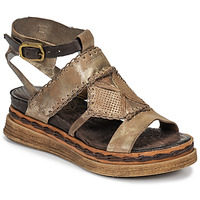 Shoes Women Sandals Airstep / A.S.98 LAGOS Gold