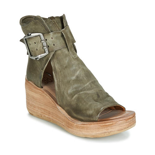 Shoes Women Sandals Airstep / A.S.98 NOA BUCKLE Kaki