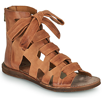 Shoes Women Sandals Airstep / A.S.98 RAMOS LACES Camel