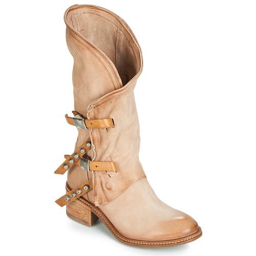 Shoes Women High boots Airstep / A.S.98 WINNIE Beige