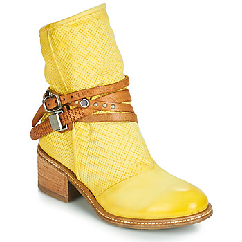 Shoes Women Mid boots Airstep / A.S.98 WINNIE STRAP Yellow