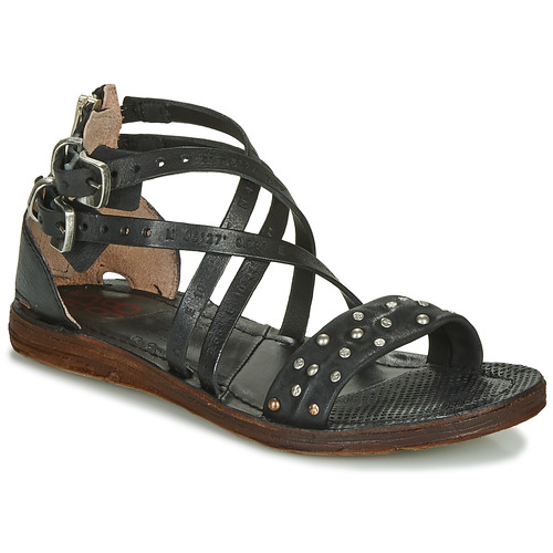 Shoes Women Sandals Airstep / A.S.98 RAMOS CLOU Black