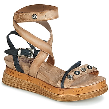 Shoes Women Sandals Airstep / A.S.98 LAGOS Beige / Black