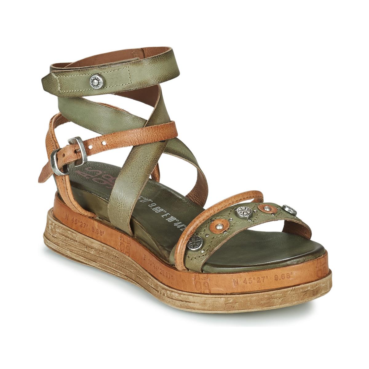 airstep / a.s.98  lagos  women's sandals in kaki