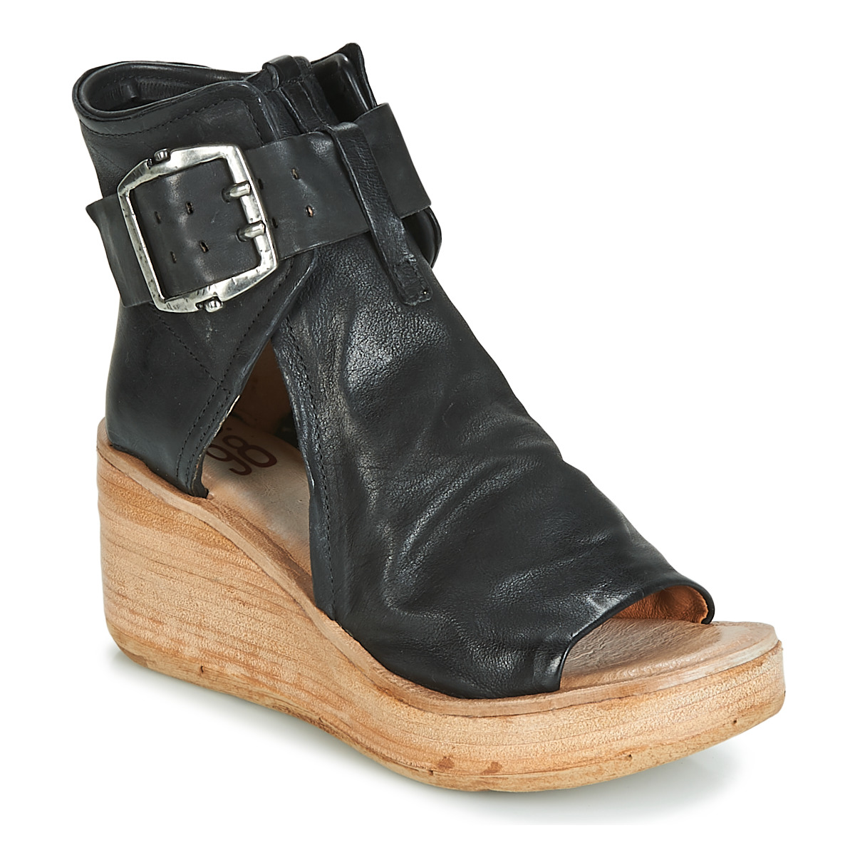 airstep / a.s.98  noa buckle  women's sandals in black