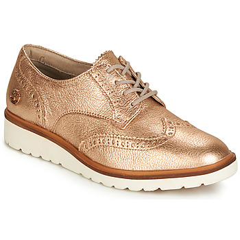 Shoes Women Derby Shoes Timberland ELLIS STREET OXFORD Pink / Gold
