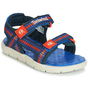 Shoes Children Sandals Timberland PERKINS ROW WEBBING SNDL Blue