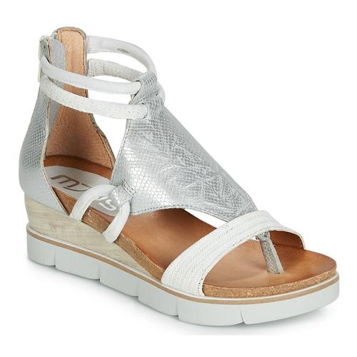 Shoes Women Sandals Mjus TAPASITA White / Silver