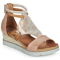 Shoes Women Sandals Mjus TAPASITA Pink / Gold