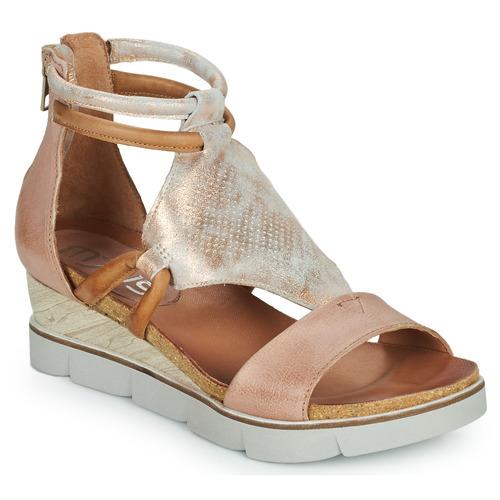 Shoes Women Sandals Mjus TAPASITA Pink / Gold