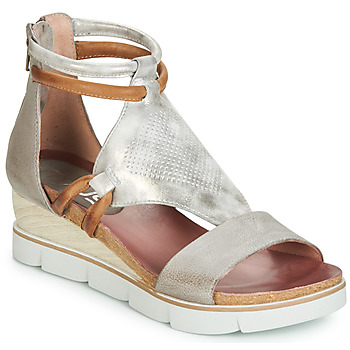 Shoes Women Sandals Mjus TAPASITA Grey / Silver
