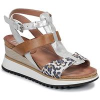 Shoes Women Sandals Mjus TARDE Camel / Leo